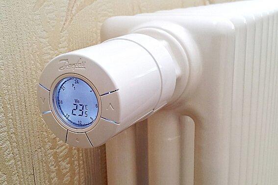 Автоматический терморегулятор с функцией предварительной установки настроек