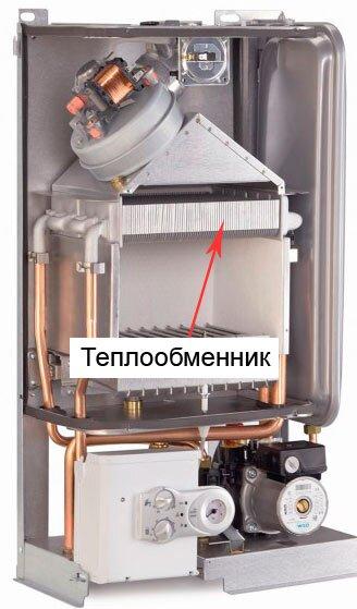 Чем промыть теплообменника газового котла
