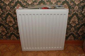 Радиатор Copa подготовленный к установке