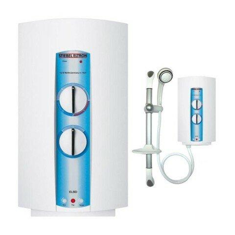 Безнапорный водонагреватель с насадкой для душа
