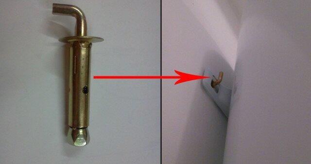 Г-образный анкер - отличный выбор для подвеса водонагревателя