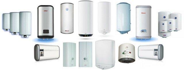 Многообразие форм и размеров водонагревателей поражает