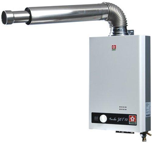 Водонагреватель Sakura с коаксиальной трубой для отвода дыма