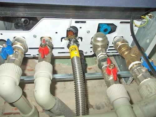 Подключение газопровода