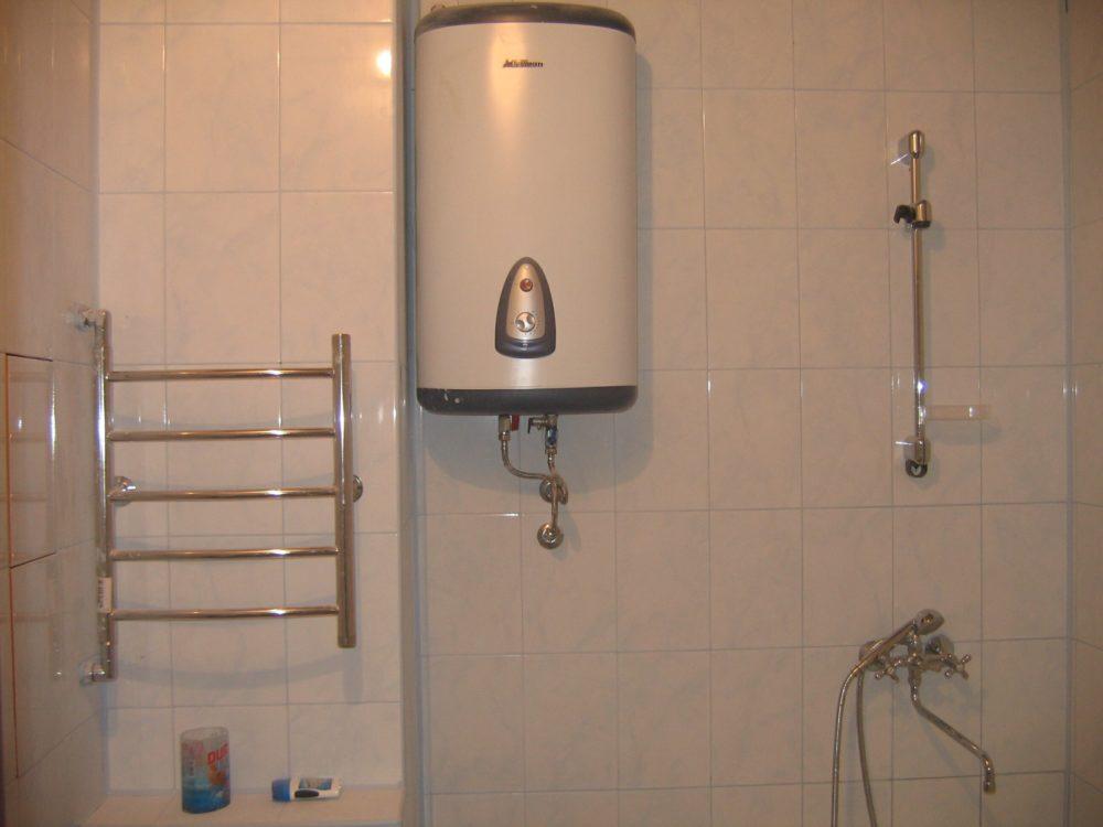 Ванная - одно из наиболее удобных и распространенных мест установки