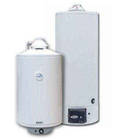 Один из примеров исполнения накопительного газового водонагревателя - линейка Baxi SAG2